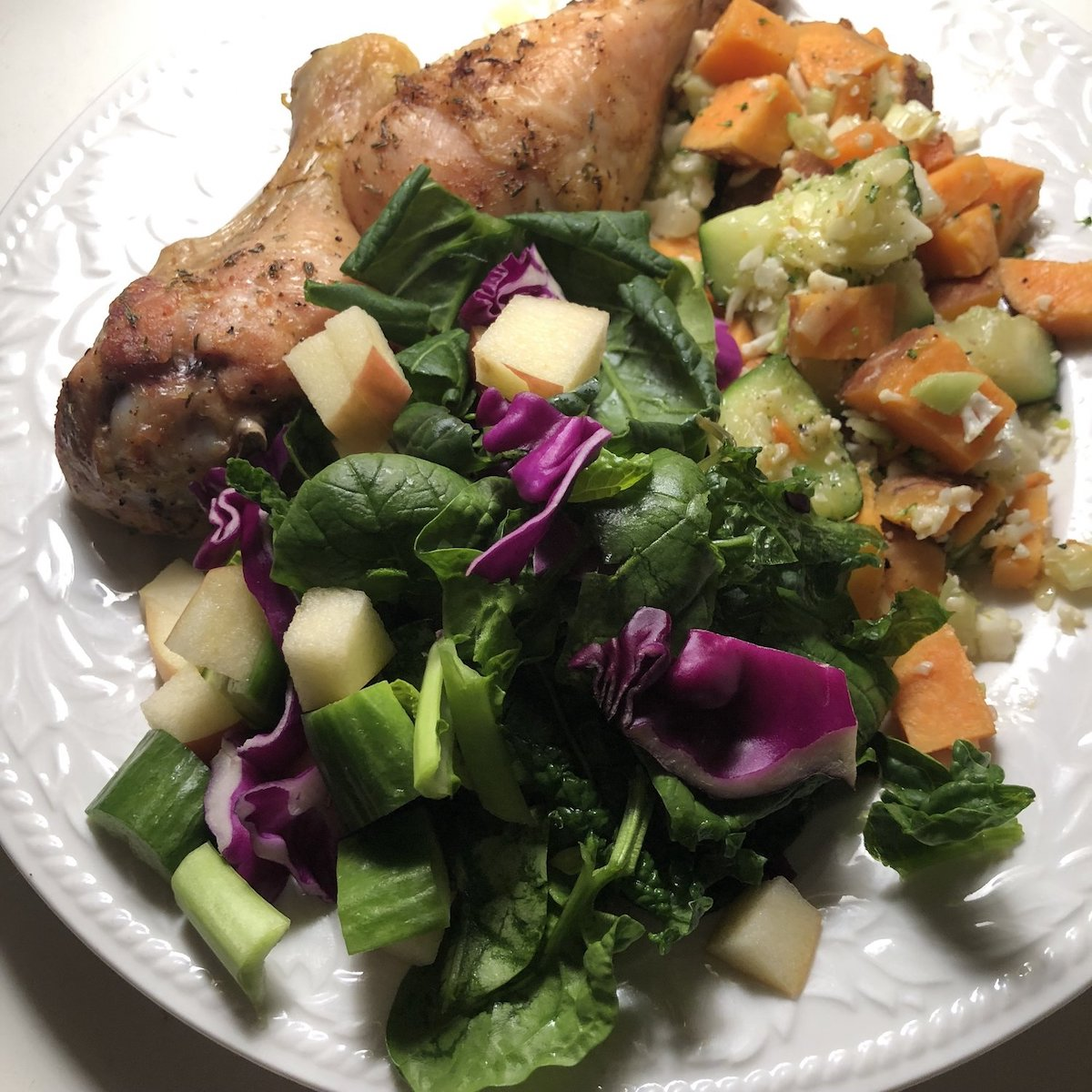 Chicken and Veggie meal